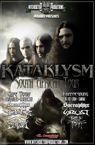 Kataklysm South African tour