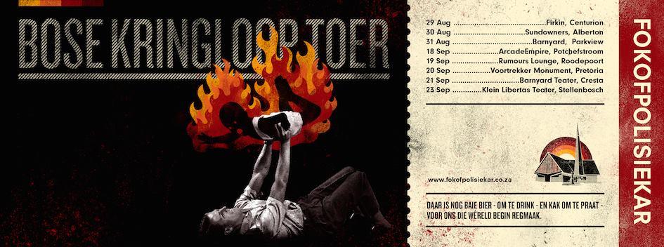 Fokofpolisiekar - Klein Libertas Theatre, Stellenbosch