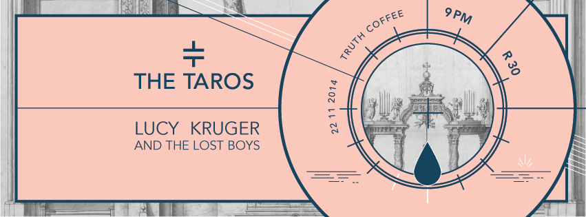 Lucy Kruger and The Lost Boys & The Taros live at Truth Coffee Saturday