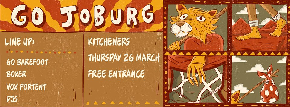 Go Joburg! At Kitcheners
