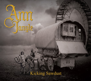 Kicking Sawdust Album Cover by Matthew Langford