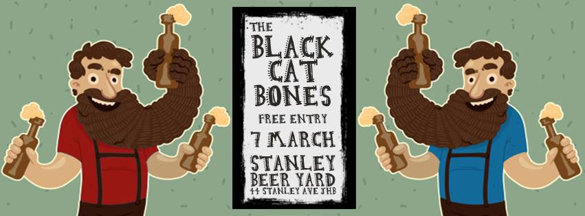 The Black Cat Bones at Stanley Beery Yard