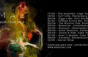 WE SET SAIL TOUR DATES APRIL MAY 2015