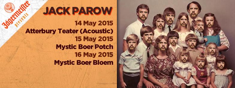 Jägermeister Presents Jack Parow Acoustic at The Atterbury Theatre