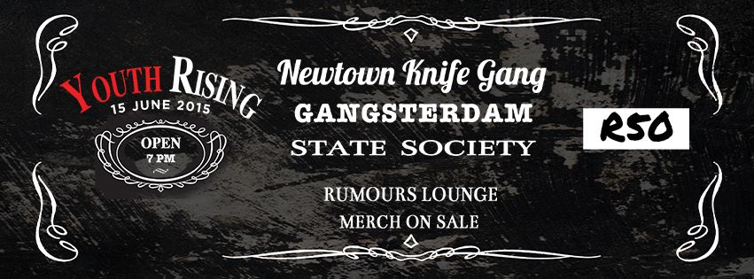 Newtown Knife Gang – Youth Rising at Rumours Lounge