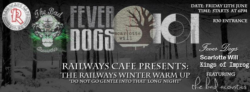 Scarlotte Will, K.O.I and more at Railways Café