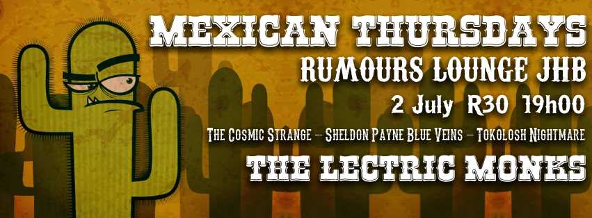 Mexican Thursdays at Rumours Lounge