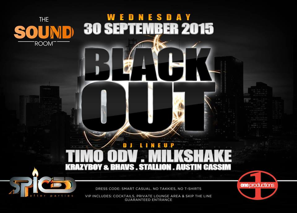 Black Out feat. TIMO ODV at The Sound Room
