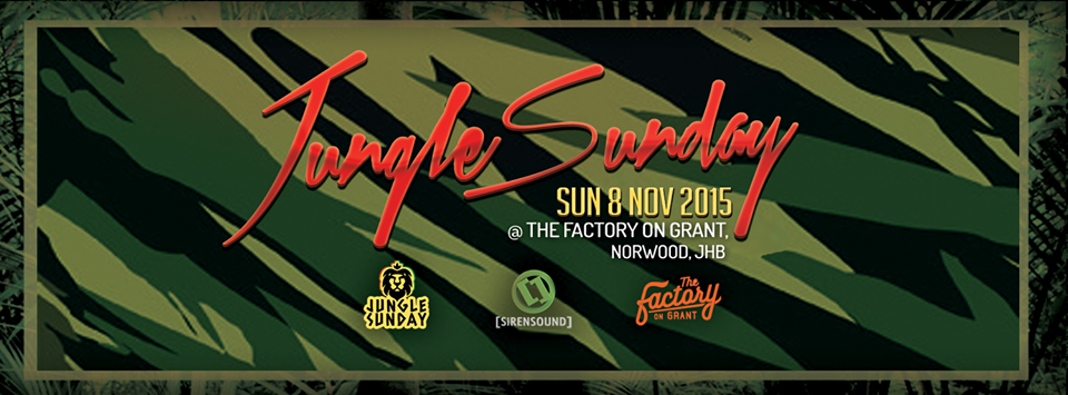#Junglesounds on the Rooftop at The Factory on Grant