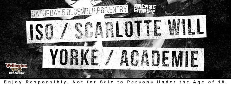 ISO, Yorke and Scarlotte Will at Arcade Empire