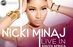 Nicki Minaj South Africa Tour - Cover Pic