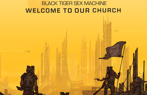 Black Tiger Sex Machine - Welcome To Our Church Website Cover