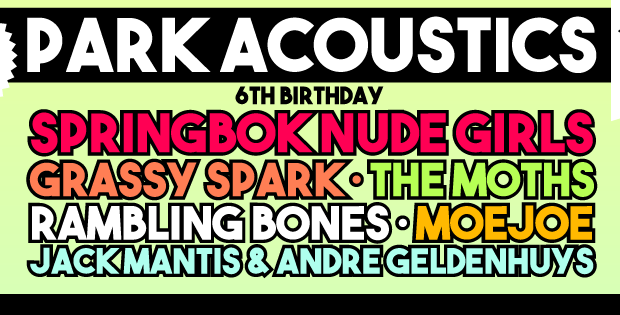 PARK ACOUSTICS MAY 2016 6TH BIRTHDAY